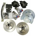 Dodge & Plymouth - B Body 1962-1972 and E Body 1970 to 1974 Complete front disc brake kit with spindles