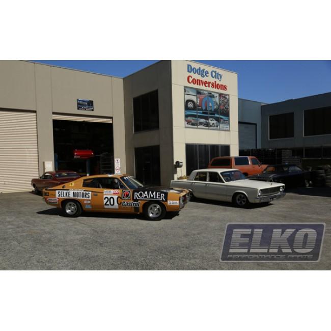 Valiant Disc Brake Conversion Kit - Wilwood Dust Boosted 4 Piston