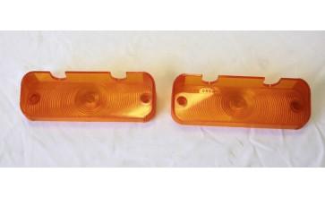 Valiant VC VE VF VG Hardtop Amber Rear Indicator Lenses - Pair
