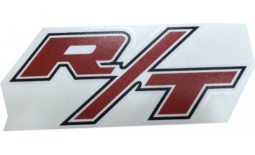 Valiant Charger R/T - Bonnet Decal - Large R/T - White Border