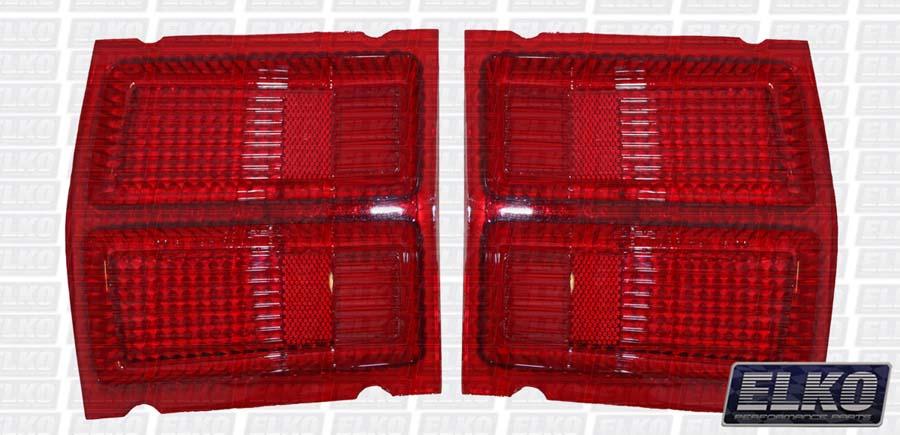 Valiant Vf Amp Vg Hardtop Coupe Rear Tail Light Lenses